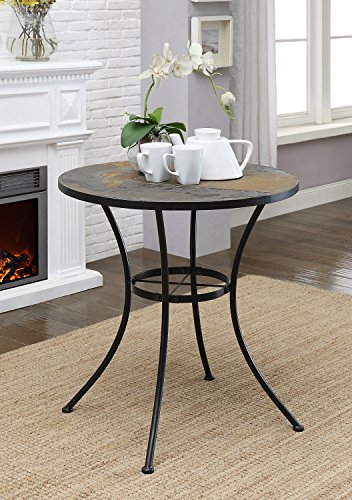 Round table w/ slate top