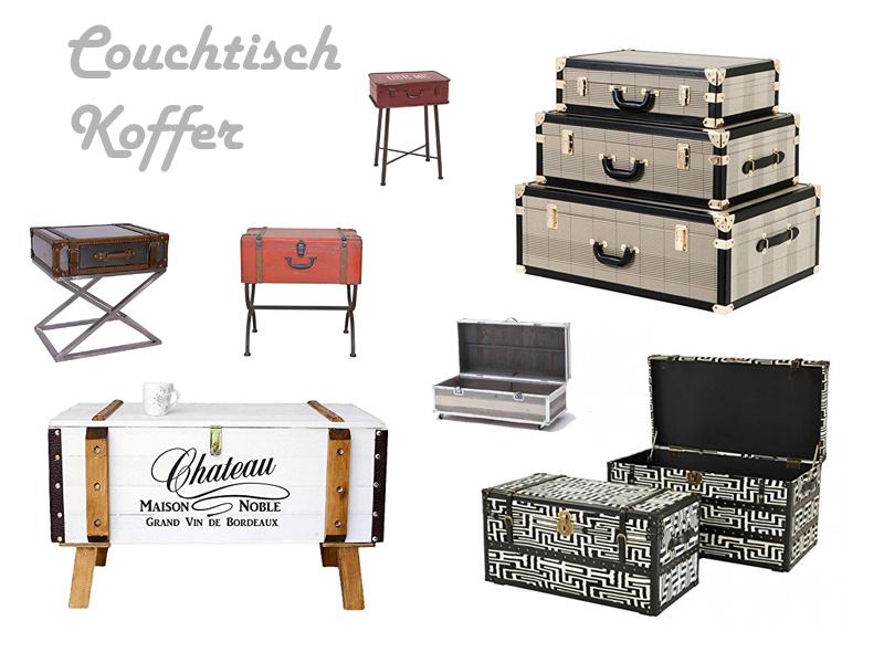 couchtisch koffer excellent dampfer koffer zu couchtisch. Black Bedroom Furniture Sets. Home Design Ideas